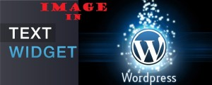 Add an IMAGE to Text Widget in WordPress site