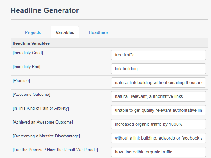 Headline Generator-WP HATS_variables