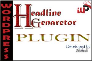 Headline Generator WordPress Plugin