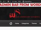 hide-admin-bar-wp