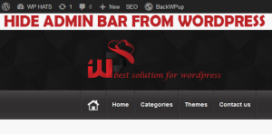 How to hide/disable admin bar from WordPress