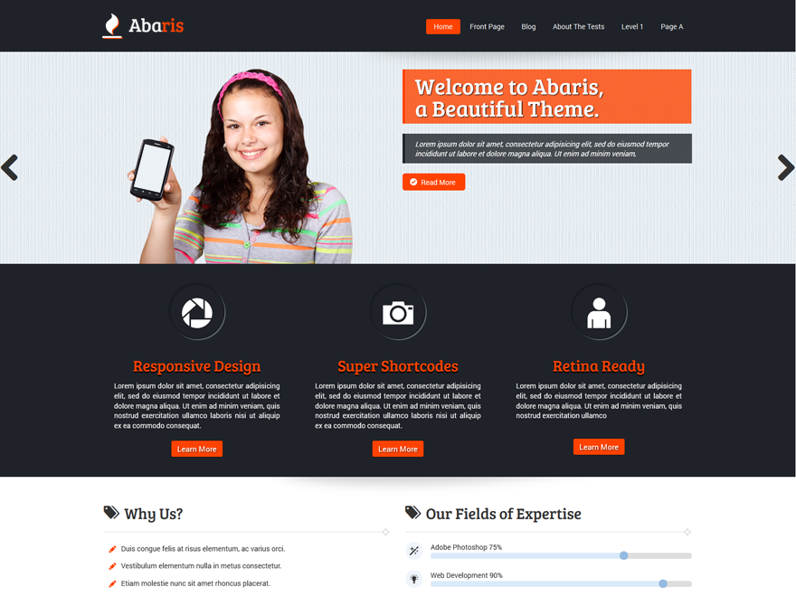 Free wordpress themes for business category wp hats wp hats flashek Gallery