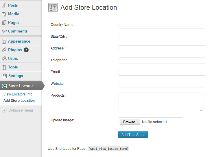 Add Location_search-store-location