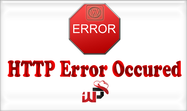 An Unexpected HTTP Error occured during the API request