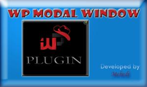 WP MODAL WINDOW PLUGIN