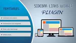 Sidebar Links Widget plugin
