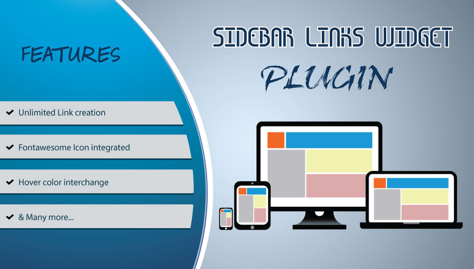 Sidebar Links Widget plugin